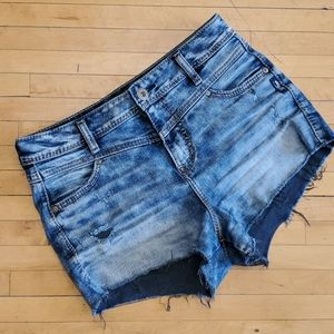 Silver Jeans Vintage High Rise Shorts